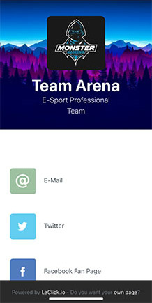 Team Arena Screenshot on LeClick.io